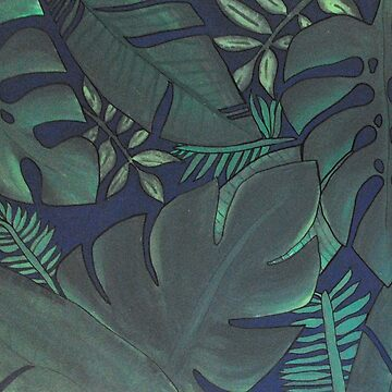 tropical jungle print (?) by neutralghost