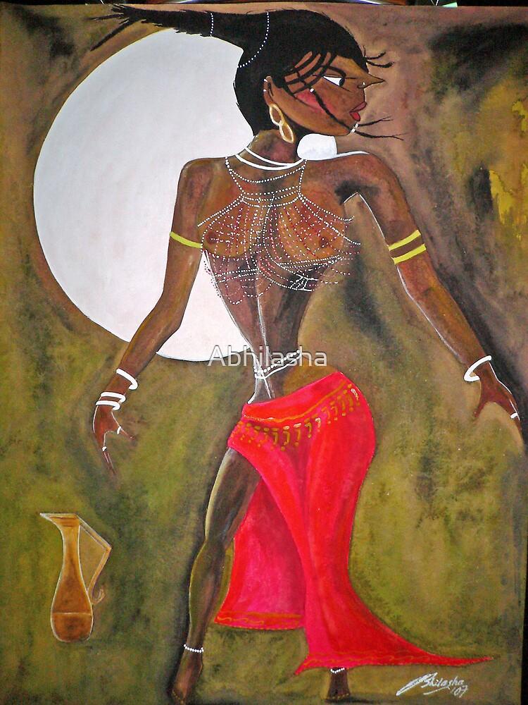 Full Moon by Abhilasha