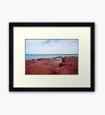 Bar Beach Framed Print
