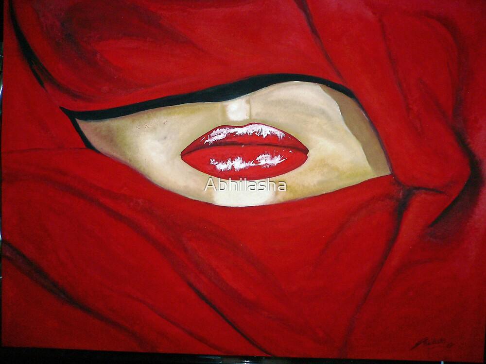 Red Lips by Abhilasha