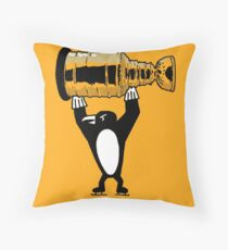 Pittsburgh penguins, 2017, Stanley Cup, Hockey, 50 years Throw Pillow