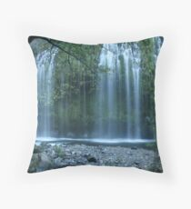 Mossbrae Falls Throw Pillow