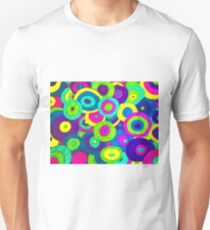 Crazy Psychedelic Retro Design!!! Unisex T-Shirt