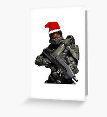 Master Chief Christmas Greeting Card