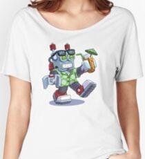 VacationBot 9000 Robot Women's Relaxed Fit T-Shirt