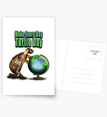 Turtle Day Postcards