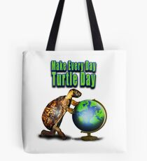Turtle Day Tote Bag