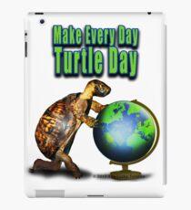 Turtle Day iPad Case/Skin