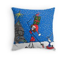 Christmas time is here again... Throw Pillow