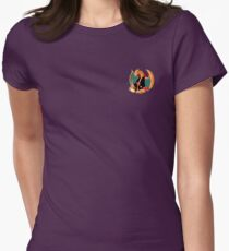 Charizard x Naruto Womens Fitted T-Shirt