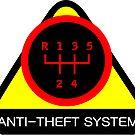 Anti-Theft System (Pattern 2) (dark) by ShopGirl91706