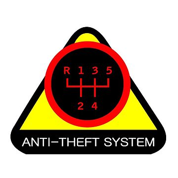 Anti-Theft System (Pattern 2) (dark) by ShopGirl91706