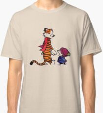 calvin and hobbes smile Classic T-Shirt
