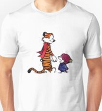 calvin and hobbes smile Unisex T-Shirt