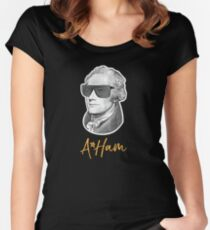 Hamilton, A Ham, Alexander Women's Fitted Scoop T-Shirt