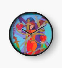 The Joke's on Our Hearts Clock