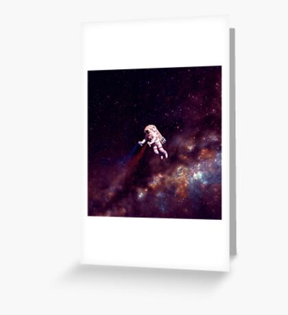 Shooting Stars Greeting Card