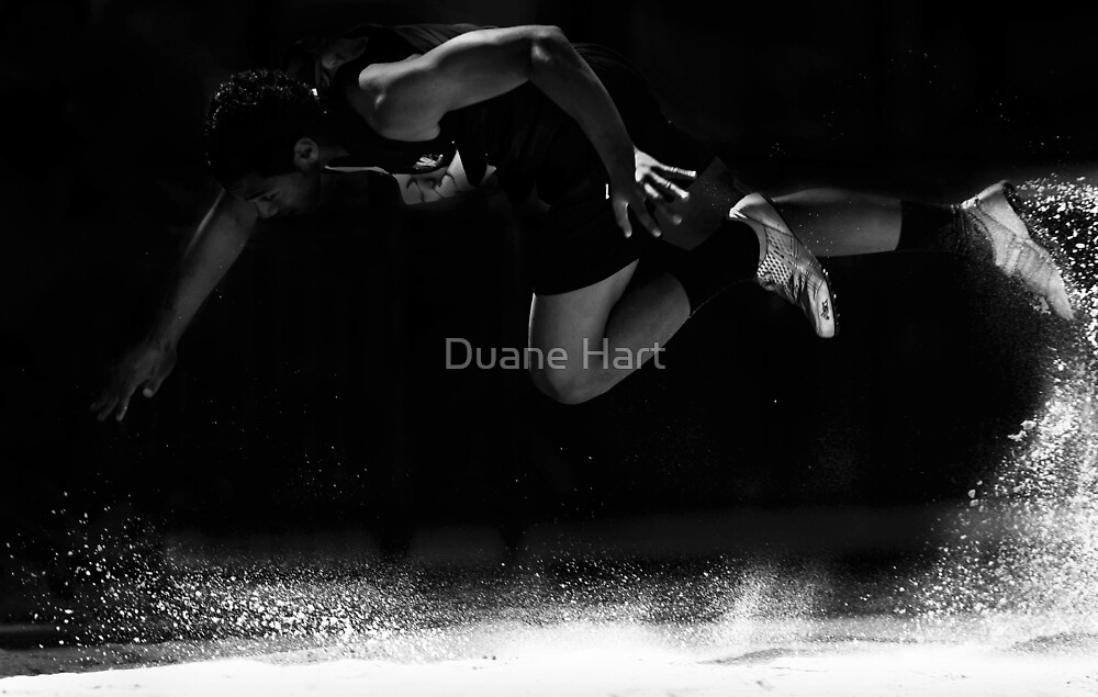 """""""To conquer without risk is to triumph without glory"""" by Duane Hart"""