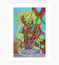 Apogee of an Apricot Tree Art Print