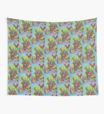 Apogee of an Apricot Tree Wall Tapestry
