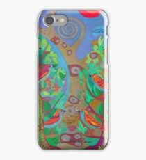 Two Trees and Fig Leaves in the Garden of Desire iPhone Case/Skin