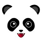 White Kawaii Panda ! ON SALE FOR LIMITED TIME ! by HeadOut