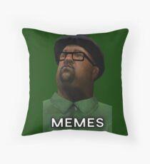 Big Smokes Meme Throw Pillow
