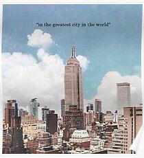 Póster La mejor ciudad