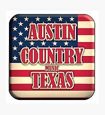 Austin Country Music Texas Photographic Print