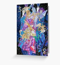 Summer Triangle Greeting Card
