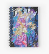 Summer Triangle Spiral Notebook
