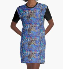 Seven Sages Watch Over the Great Bear in the Ancient Night Graphic T-Shirt Dress