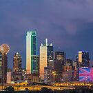 "Dallas ""Manchester"" Tribute Skyline by josephhaubert"