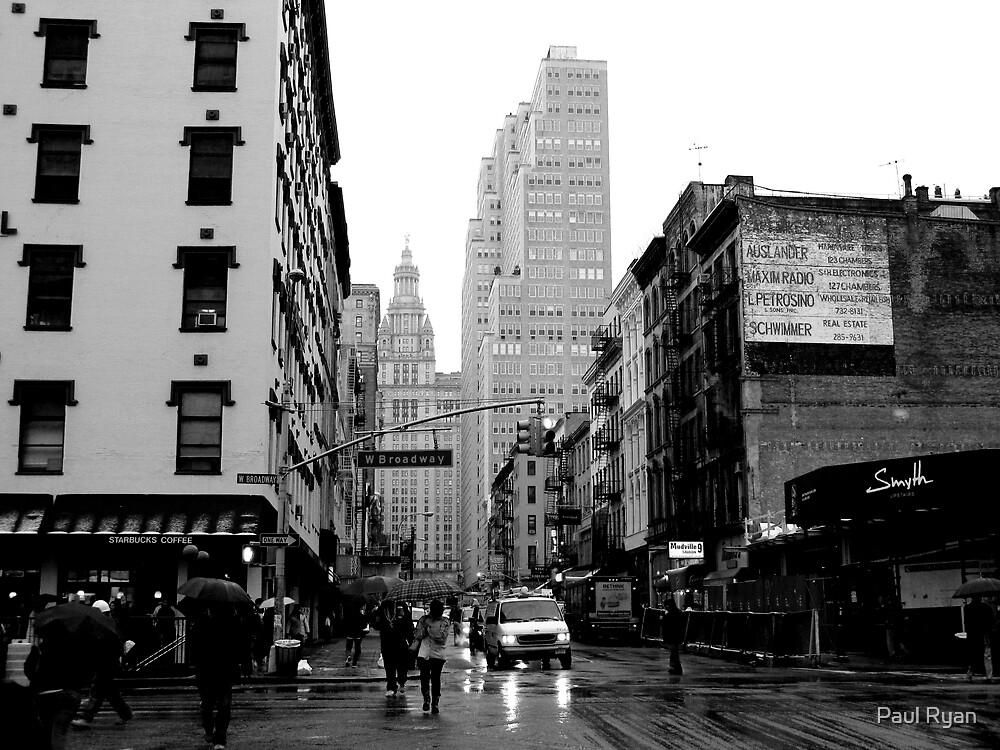 West Broadway & Chambers by Paul Ryan