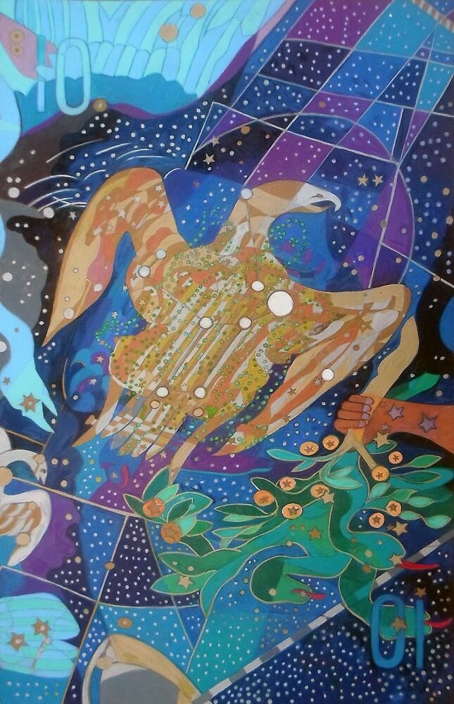 Ten Stars of the Eagle's Harp by Denise Weaver Ross