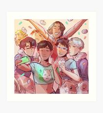 Hamster Party Art Print
