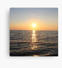 Skaket Sunset Canvas Print