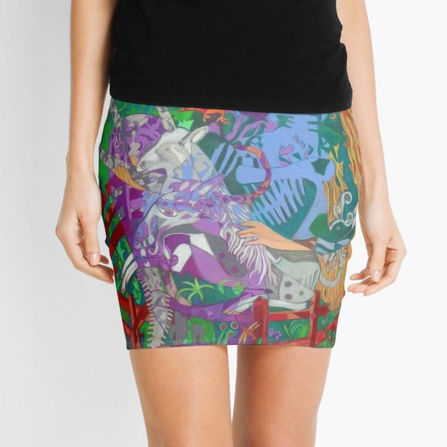 Archeology of the Unicorn Mini Skirt