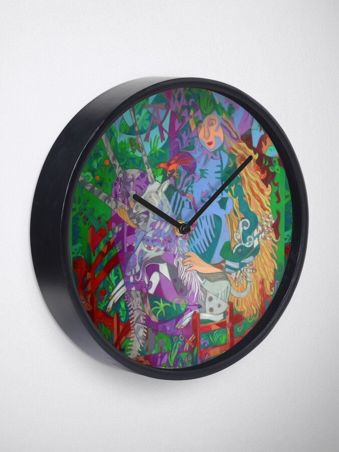 Alternate view of Archeology of the Unicorn Clock