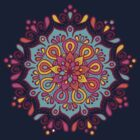 Multicolor Mandala by Astral Prints