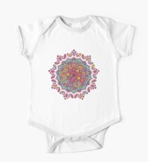 Multicolor Mandala One Piece - Short Sleeve