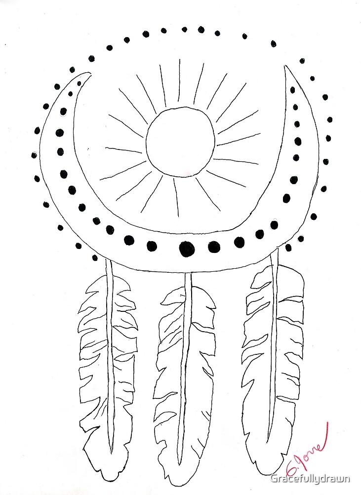 Sun & moon by Gracefullydrawn