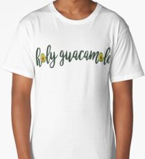 Avocado Holy Guacamole Long T-Shirt