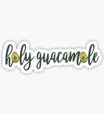 Avocado Heiliges Guacamole Sticker