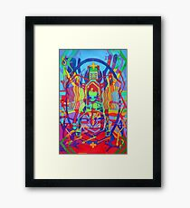 Eight Bones of the Spider Woman Framed Print