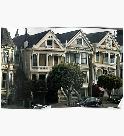 And Painted Ladies All In A Row.. Poster
