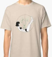 floral girl Classic T-Shirt