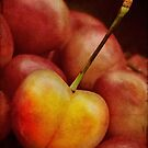 Golden cherry by Celeste Mookherjee