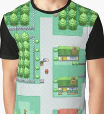 Dreams of Viridian City Graphic T-Shirt