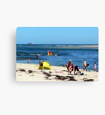 Beach & Bar Canvas Print
